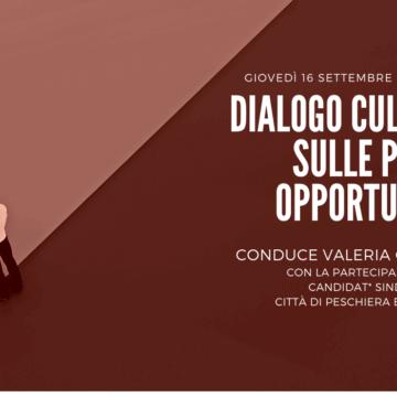 DIALOGO SULLE PARI OPPORTUNITÀ